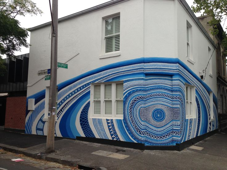 Another interesting #streetart display in #Fitzroy, #Melbourne.