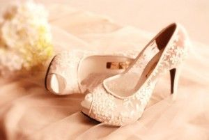 Uploaded image Lace bridal shoes.jpg