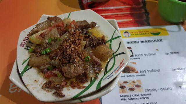 PANDA JAJAN: [Food & Resto] Soto Betawi Haji Mamat Yang Legenda...