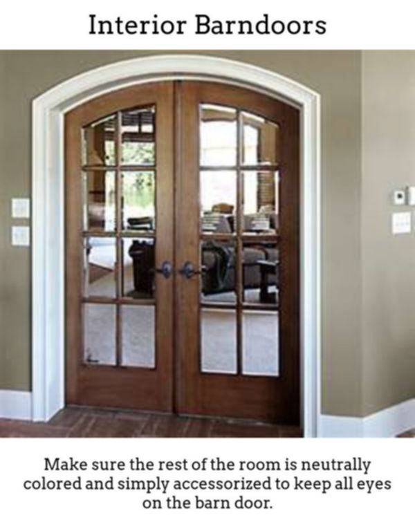 Interior Barndoors Sliding Barn Doors Aren T Just Designed For Country Side Barns These Days They Can Be Hassle Free Well Desi Interior Barndoors In 2019