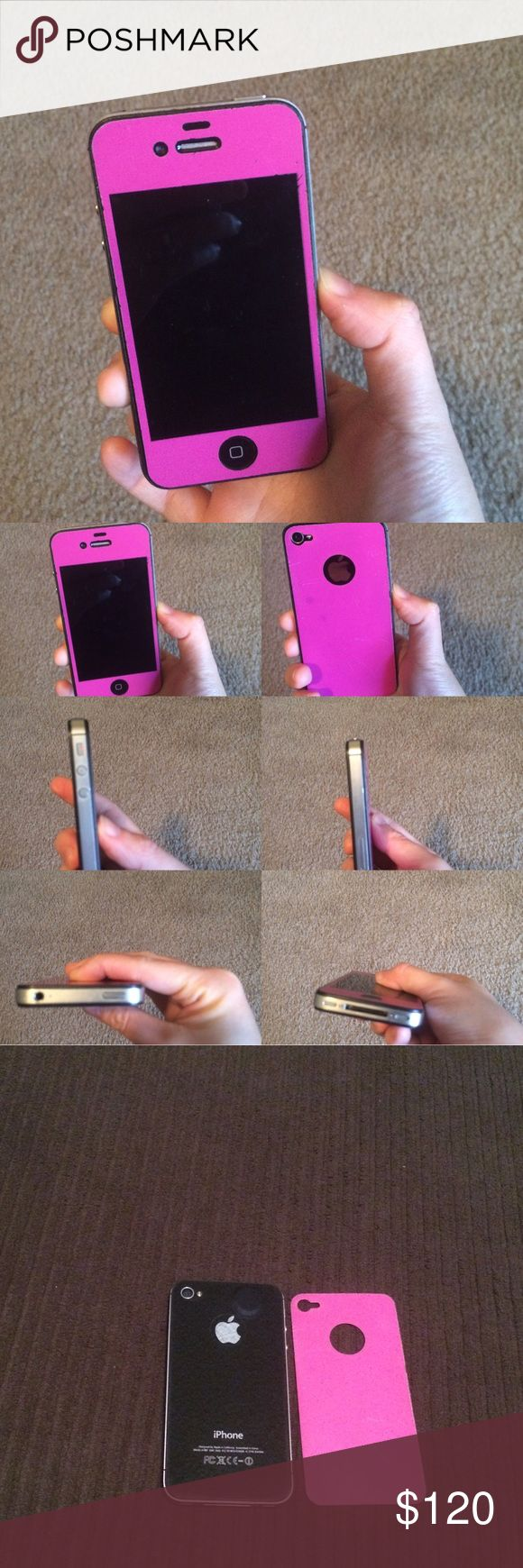 Unlocked iPhone 4S. 32 Gb Unlocked phone. The battery was replaced so it is a practically new battery. Minor scratches on screen and on back but no dents! Still works great! Apple Other