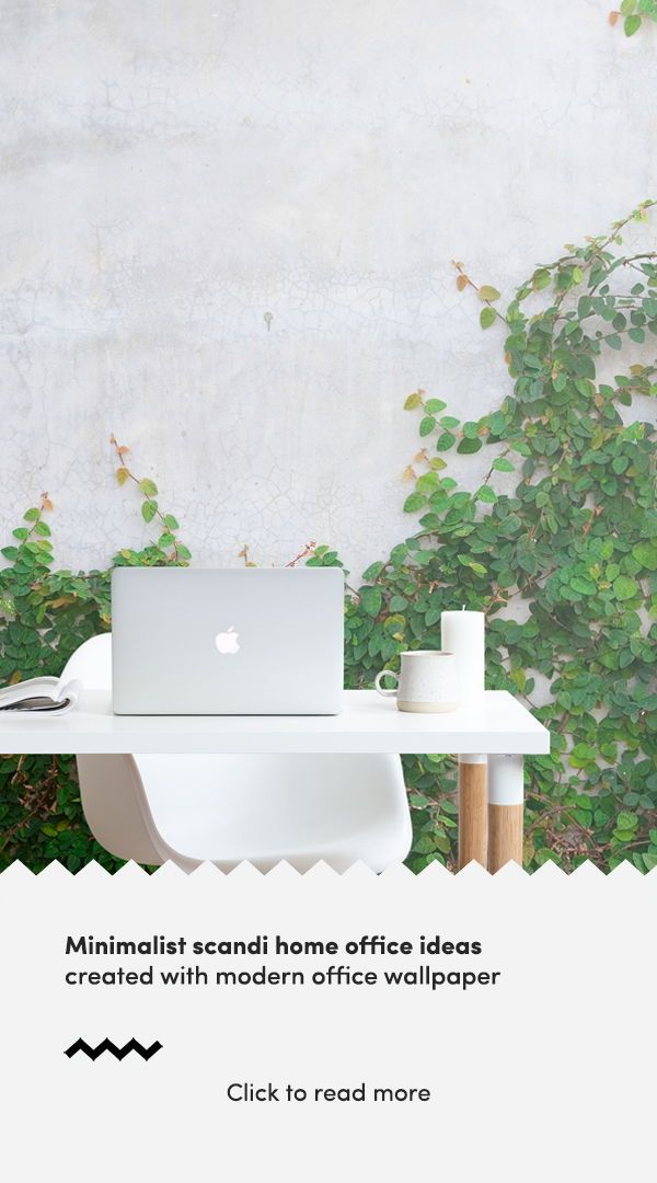 ivy covered wall mural wallpaper dream office spaces office rh pinterest com
