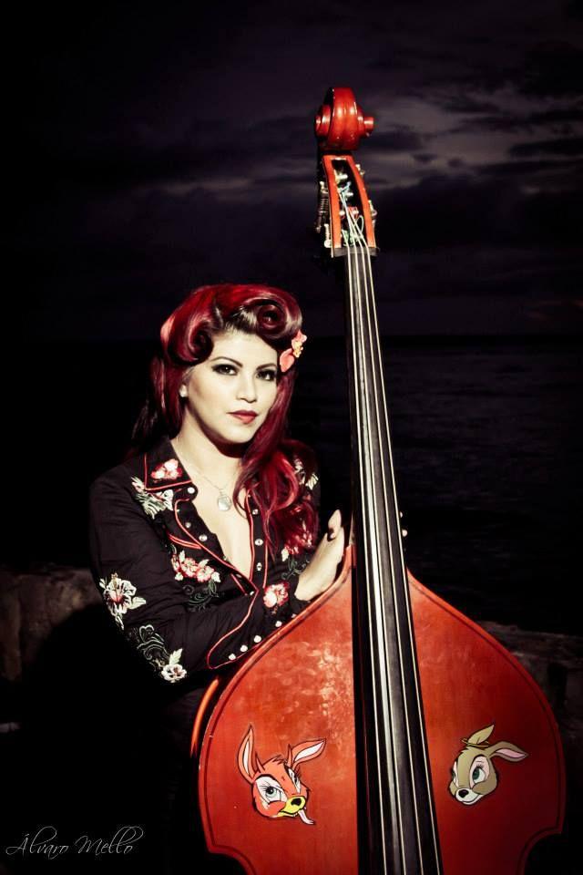 Rockabilly bass by Alvaro Mello
