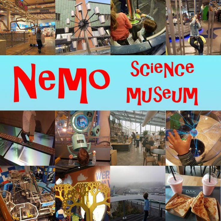 Dagje Nemo Science Museum in Amsterdam met kinderen #leukmetkids
