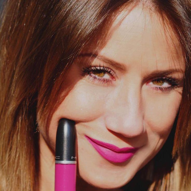 New #lipstick #mac #blogger #fashion #moda #photo #fashionblogger #cosmetic #girl #beautiful Follow me www.modablogger.eu
