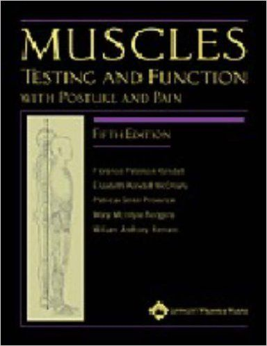 Muscles: Testing and Function with Posture and Pain by Florence Kendall 2005-02-01: Amazon.de: Florence Kendall; Elizabeth Kendall McCreary; Patricia Geise Provance; Mary Rodgers; William Romani;: Bücher