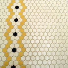 """Kreieren Sie Ihre eigenen 1 """"hex #tile Rosettenmuster mit einem von Pratt & Larsons Hunderten von Farben #prattandlarson"""