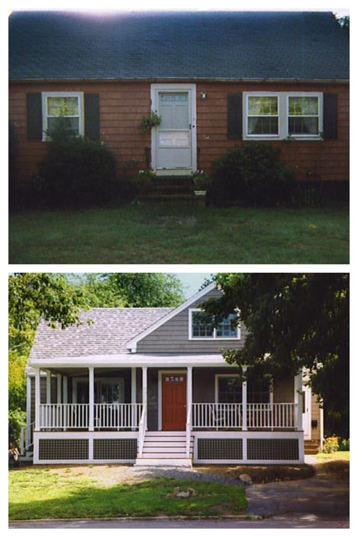 Home Remodel Before And After Exterior