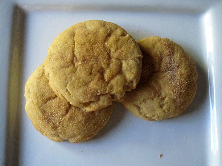 Pumpkin Cheesecake Snickerdoodle Cookies