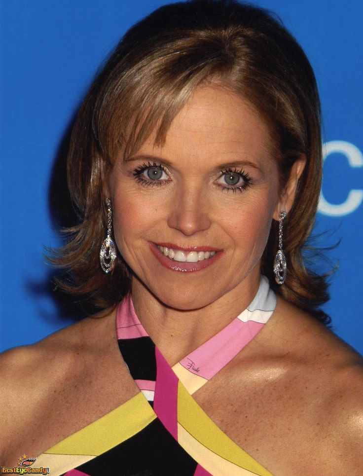 Katie couric peeing something
