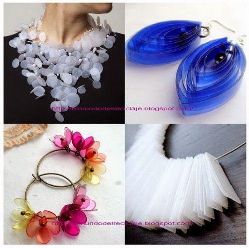 Plastic bottles jewellery