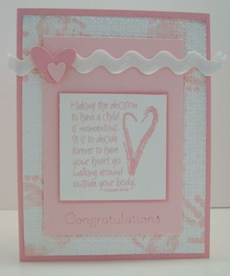 Baby Congratulations by tjblack3 - Cards and Paper Crafts at Splitcoaststampers
