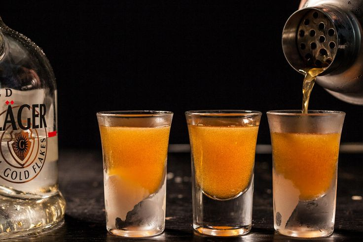 An infamous liquid cocaine cocktail recipe made with rum, Rumple Minze, Jägermeister, and Goldschlager.