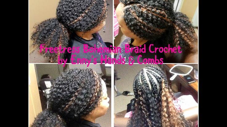 Crochet Braids With Freetress Bohemian Braids
