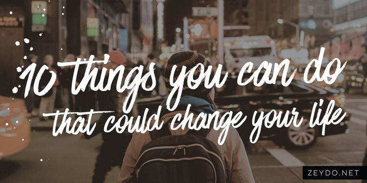 """10 Incredible Things You Can Do That Could Change Your Life  Ever feel like your life is a little incomplete. Maybe you want to do things you haven't had the chance to do and you don't know where to start? Here are 10 amazing things that, if you manage to complete them all, will really have you smiling and saying """"What a month!"""" Haha maybe not all in a month but feel free to set yourself a challenge. I know I am definitely going to make sure I achieve every single one of these, hopefully…"""