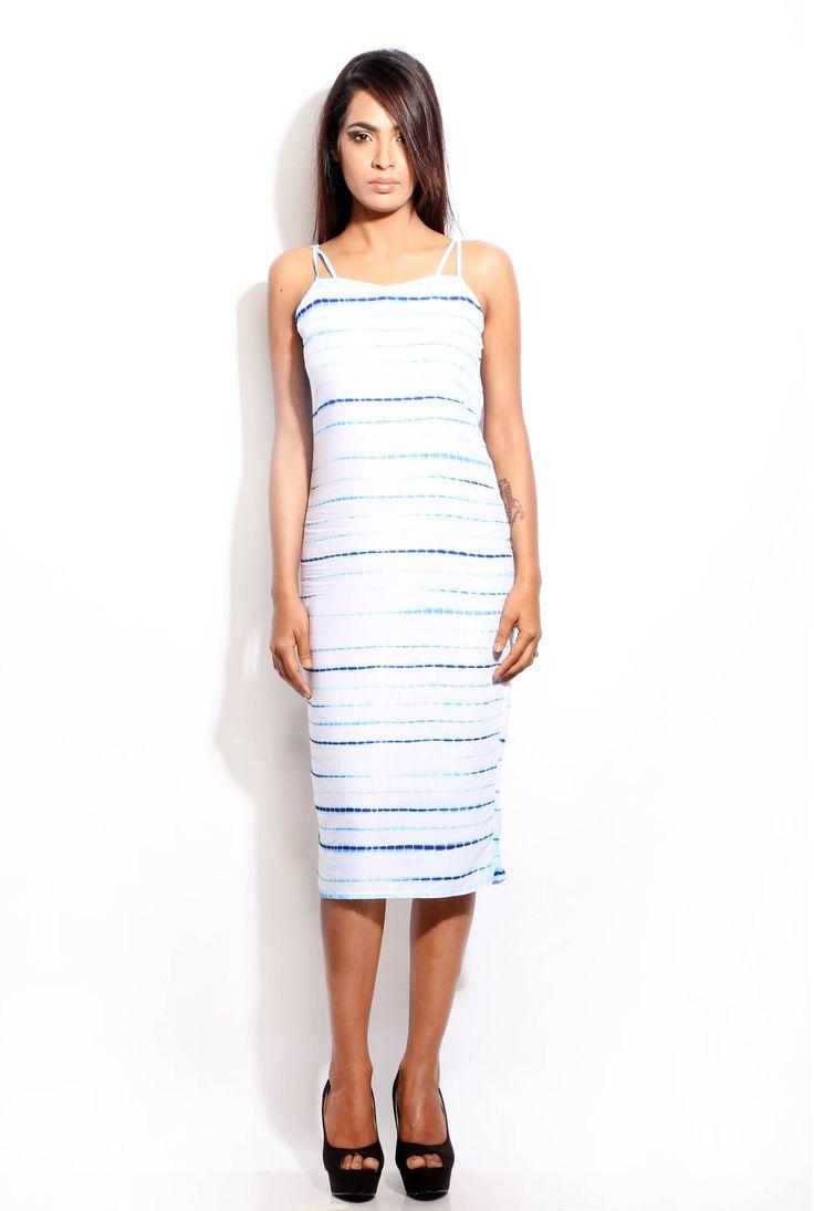 Change360° online Shopping- Tie- dye strappy dress  #white #blue #tie-dye #dress #dresses #sheath#womenfashion #womenswear #style #fashion #women #prints #lovefashion #lovestyle #stylish #modern #westernwear #pinterestfashion #pinterestdaily #Change360store #C360 #change360fashionstore #Change360 #onlinefashionbrand #changelifestye #Indianfashion #Mumbai #India