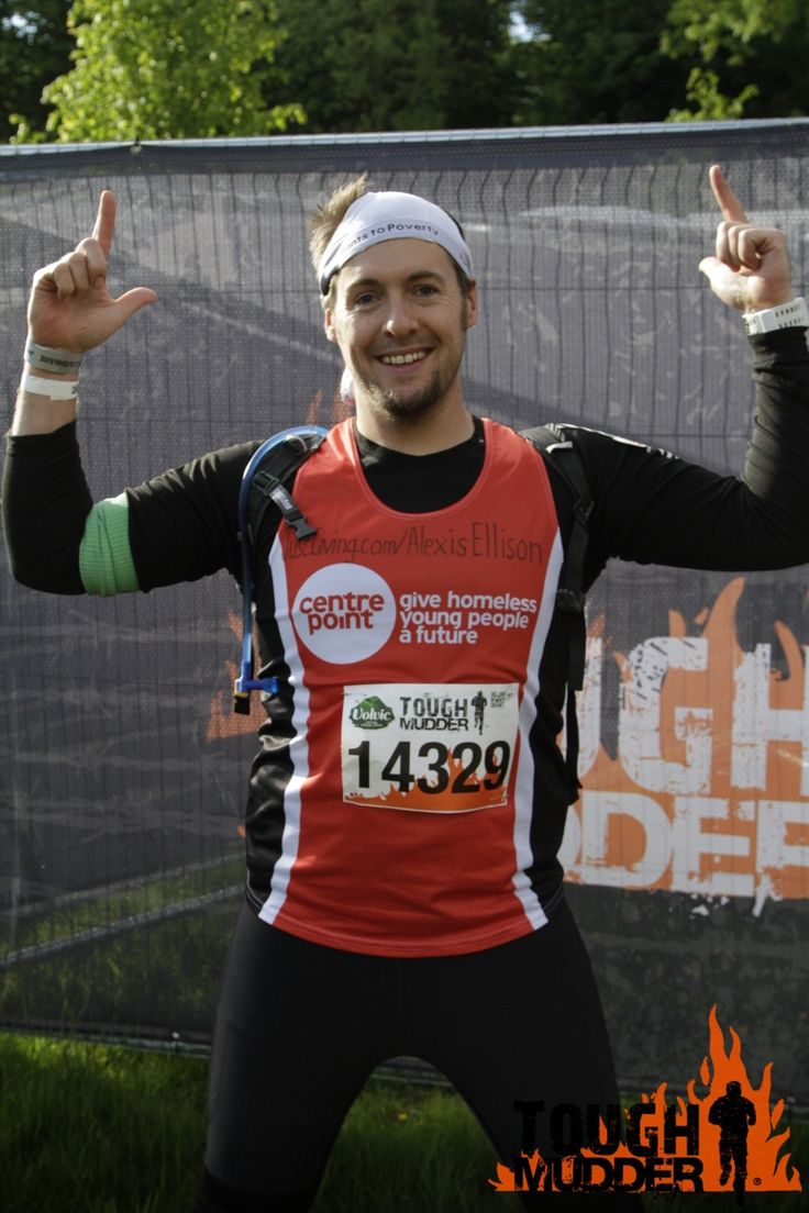 Congratulations to Alexis! Completing a Tough Mudder is a massive achievement, but completing 3 laps is incredible! Now onto his next event: a 24hr cycle from Newcastle to London!