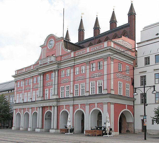 Rostock Rathaus.
