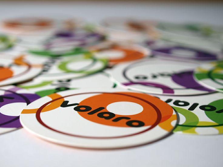 Circular business cards