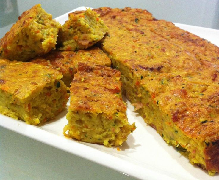 Recipe Zucchini Slice with Bacon, Carrot & Curry Powder by mishrazza9 - Recipe of category Baking - savoury