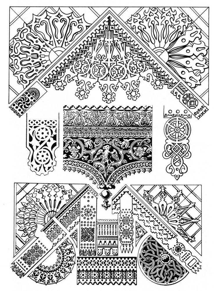 русский орнамент архитектура - Поиск в Google