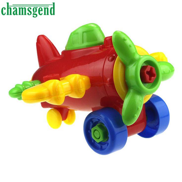 ホットdiy子供子分解·組立漫画飛行機おもちゃでツールsep 01