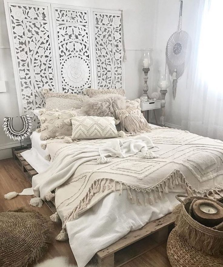 chambre ambiance boh me take me home deco chambre. Black Bedroom Furniture Sets. Home Design Ideas