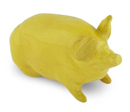 Wemyss yellow pig