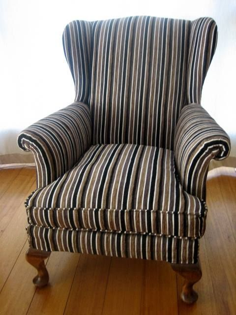 Parker wing-backed armchair