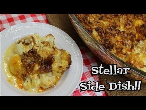 Cauliflower Augratin Casserole ~ Thanksgiving Survival Guide ~ Side Dish...