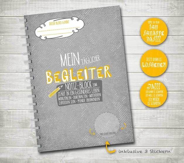 Notizbuch – Mein täglicher Begleiter – Diät Planer