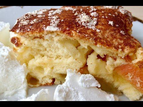 Яблочный Пирог (Шарлотка) Очень Быстро и Вкусно  (Apple Pie, English Sub...