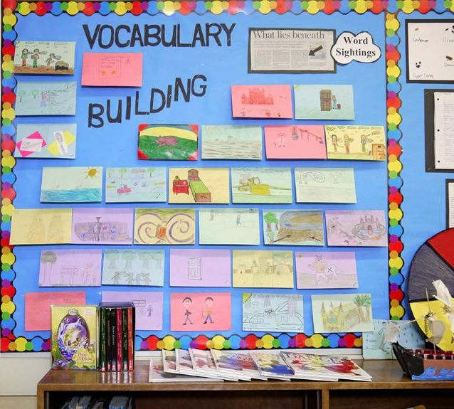 This activity requires students to choose words in books that they are reading. The words they choose have to be challenging for them to understand. Then they display the definition of the word by drawing a picture (illustration). The next steps in the activity game-like, where students challenge peers to guess their word. This is effective because it could be done while students' are reading on their own. Students will be motivated to find new vocabulary so that they could add it to the…