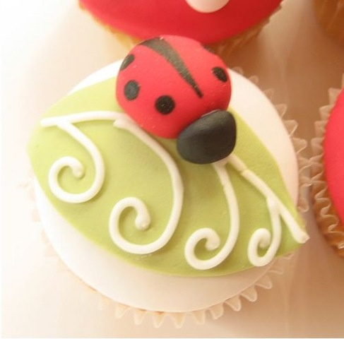 Cupcakes coccinelles 3