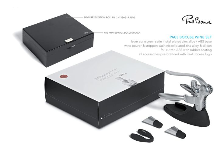 Paul Bocuse Wine Set #corporategifts #giftsets #promotionalgift #brandability