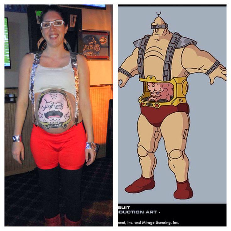 Maternity Halloween costume. Krang from Teenage Mutant .  sc 1 st  Olivero & Krang Tmnt Costume | Olivero