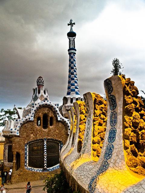 Park Güell by 1yen, via Flickr