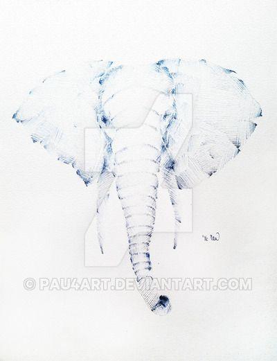 elephant is the best by Pau4art.deviantart.com on @DeviantArt