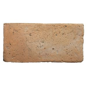 Photo of rectangular light shaded handmade cotto tile | Drylanditaly.com