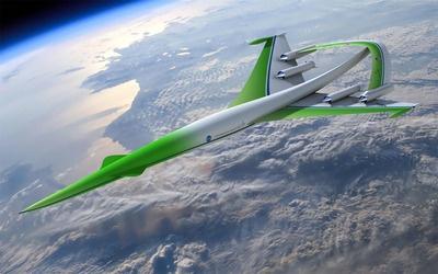 Supersonic Green Machine wallpaper