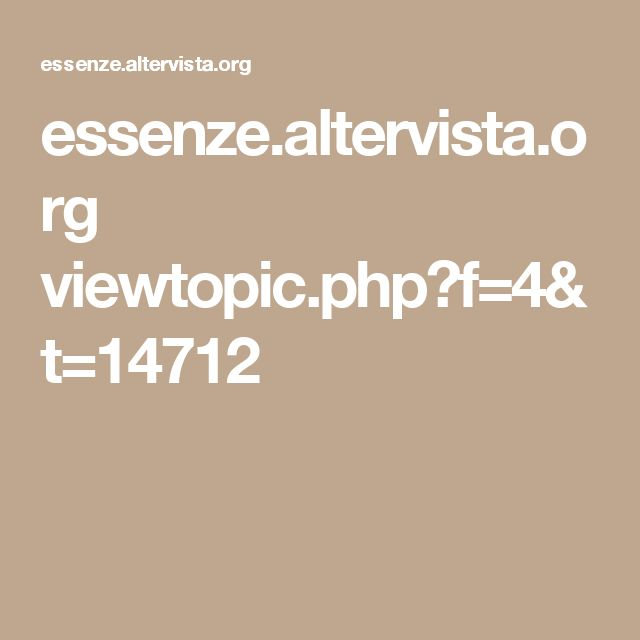 essenze.altervista.org viewtopic.php?f=4&t=14712