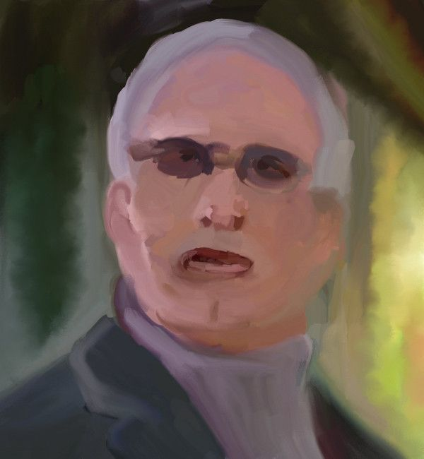 Portrait of Chevy Chase as Pierce Hawthorne