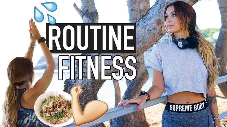 Routine Fitness : Planning, Exercices, Compléments, Alimentation, Essent...