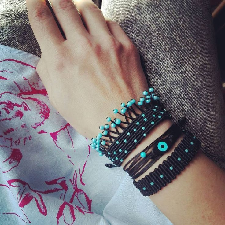 "64 Likes, 2 Comments - Marmalady Handmade Jewels (@marmaladyjewels) on Instagram: ""#marmaladyjewels #braided #armparty #turquoiseparty #springtime #greekstories #greekdesigner…"""