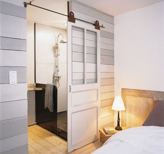 17 best images about sliding barn doors on pinterest for Barn doors to separate rooms