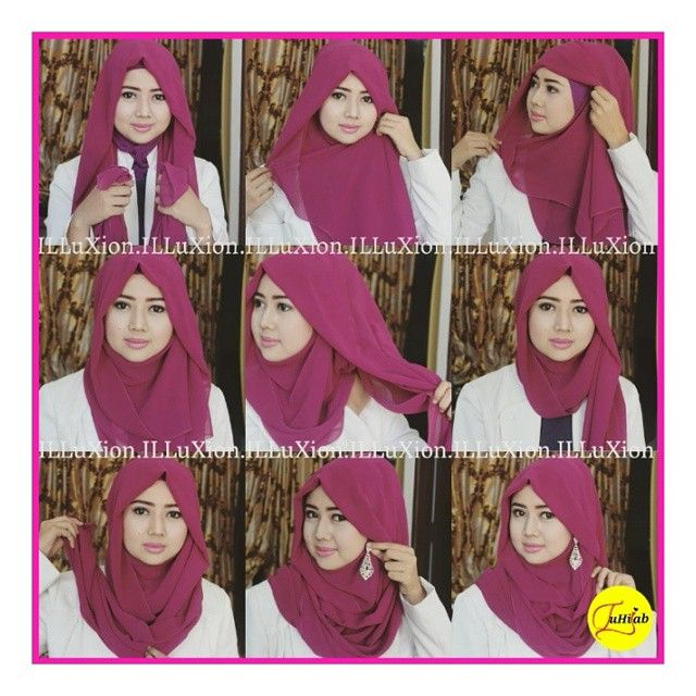 This is a beautiful girly hijab look that would suit all face shapes, it looks so elegant and feminine. With no further here are the steps to follow for this look. Place the hijab on your head equally Twist the…