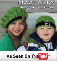 Free Pattern - Crochet Irish Inspired Beret and Beanie Hat Video from Naztazia