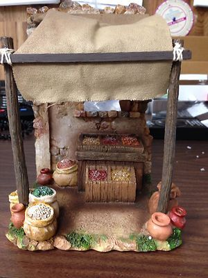 Fontanini Nativity Village Spice Market Item #55553