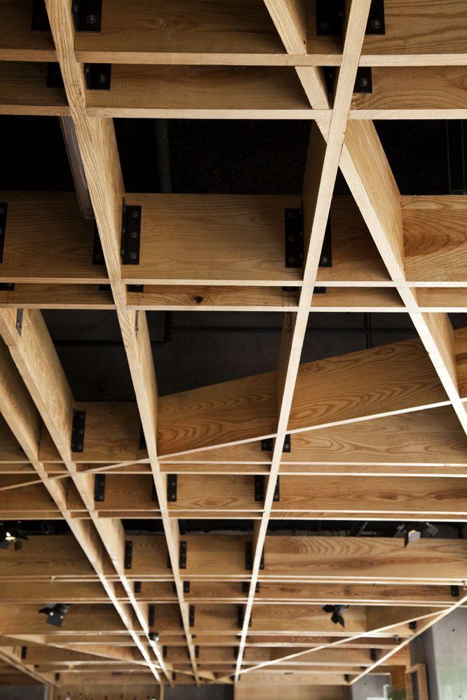 Spuntino | ceiling detail - serrano monjaraz architects