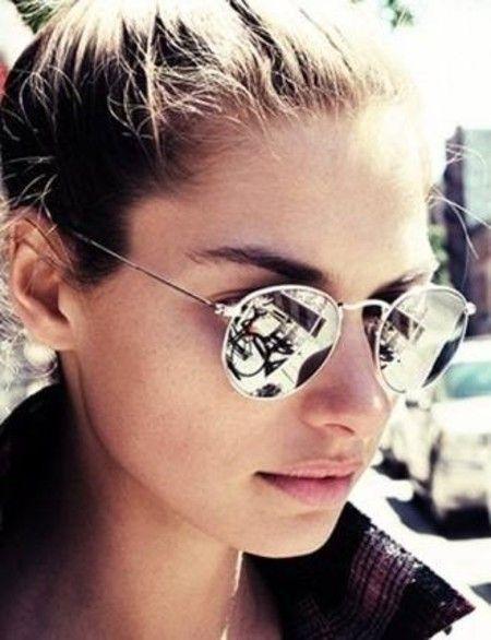 Óculos Ray Ban Round® – Prata   óculos de Luxo   Sunglasses, Glasses ... c668531223
